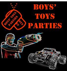Boys' Toys Parties