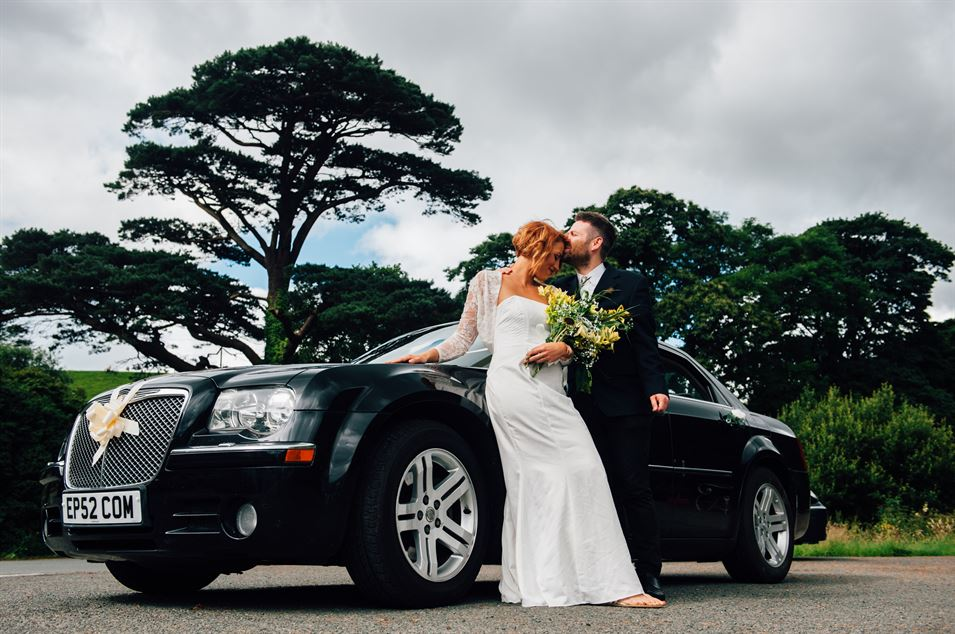 Mid Wales wedding car hire & shuttle bus service